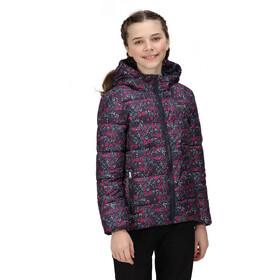 Regatta Lofthouse V Jacket Kids, blauw/roze